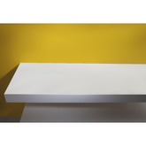 VOLLE Столешница 90*46*8см каменная Solid surface, 10-40-75