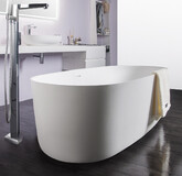 Volle Solid Surface 168*80 см, ванна отдельностоящая каменная